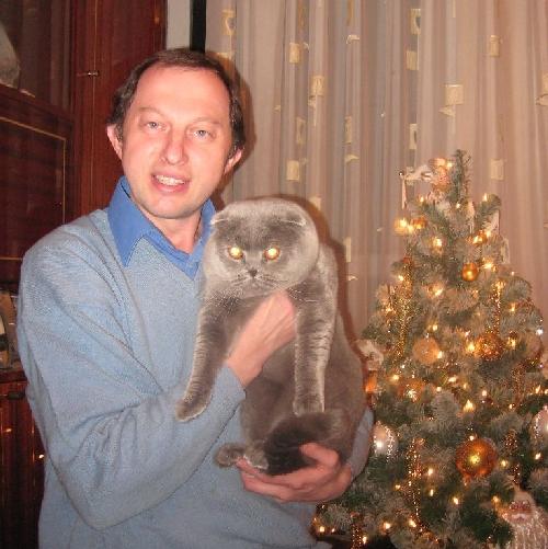 Руководитель питомника Олег Петрович Буян